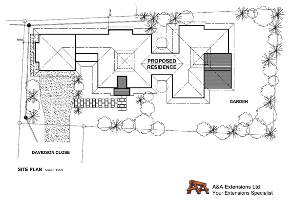 Your Building Specialist Home Renovations Builders Extensions – Sample Site Plan